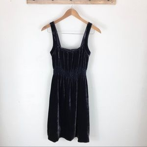 Anthropologie Odille Velvet Dress